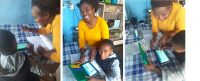 Abongile Mhlola is learning during lockdown to be an online tutor with NumberSense